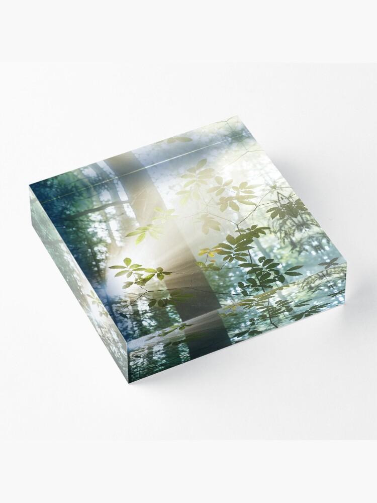 Bloc acrylique ''Amazing Light': autre vue