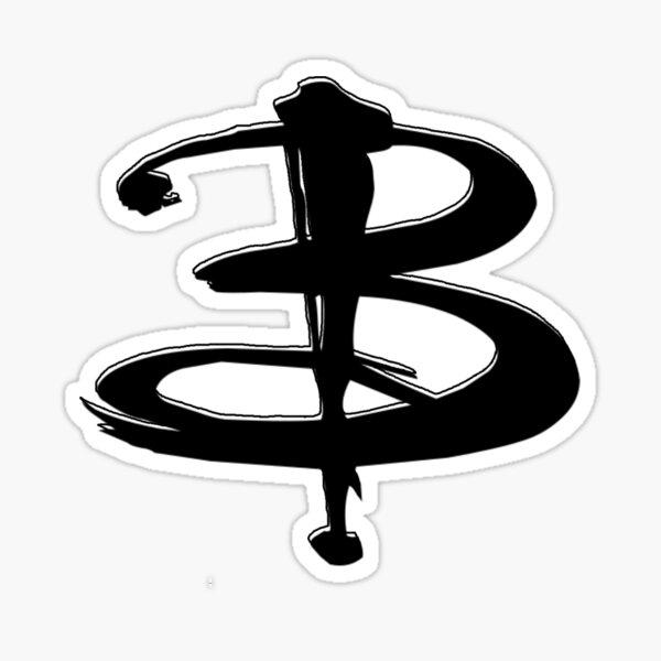The Buffy B Sticker