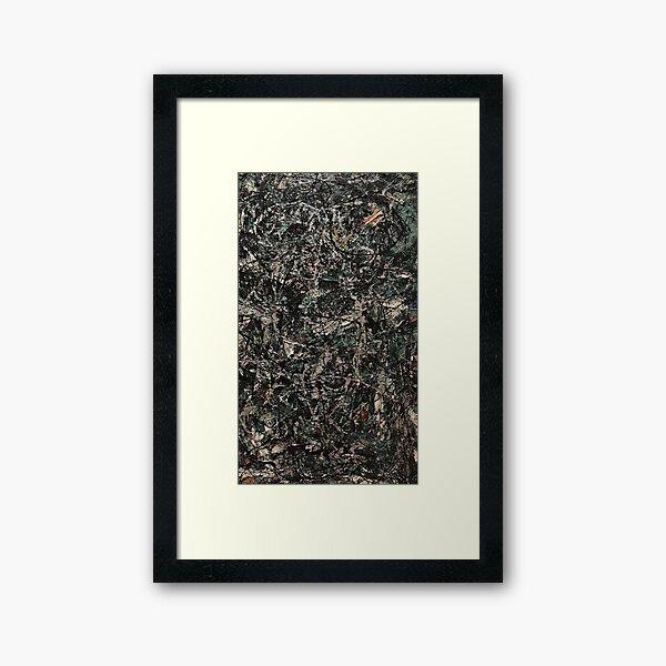 Jackson Pollock - BStack Framed Art Print
