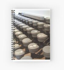 Typewriter Spiral Notebook
