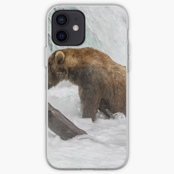 Waiting for Salmon iPhone Soft Case