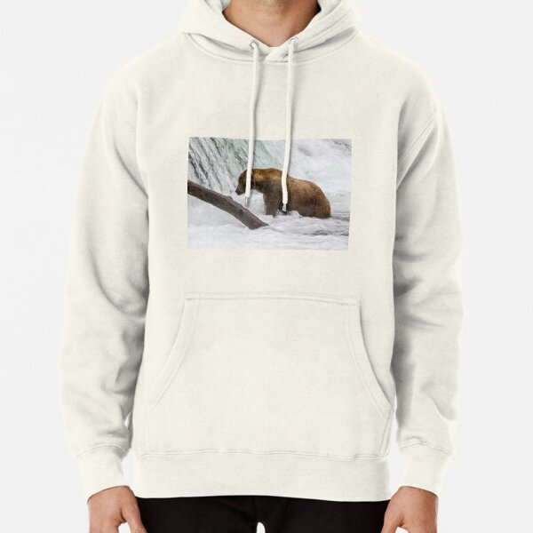 Waiting for Salmon Pullover Hoodie