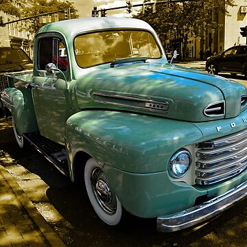 Skaneateles Pickup by woodeye518