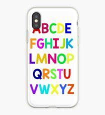 Alphabet fun iPhone Case
