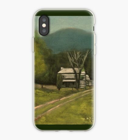 PHILIP'S PLACE, Pastel Painting, for prints and products iPhone Case