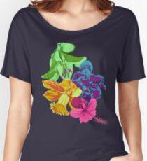 Octopus Flower Garden Women's Relaxed Fit T-Shirt
