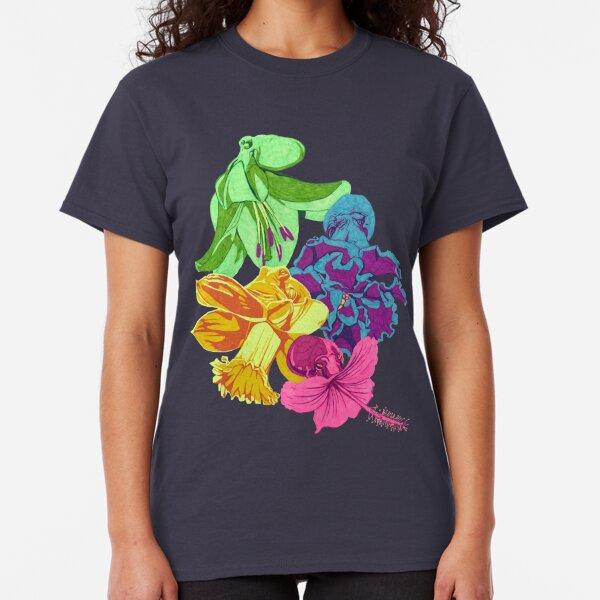Octopus Flower Garden Classic T-Shirt