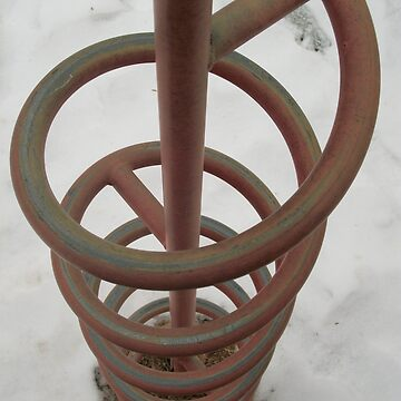 Spiral in Snow by ladymalchav