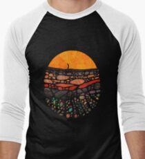 Beneath Men's Baseball ¾ T-Shirt