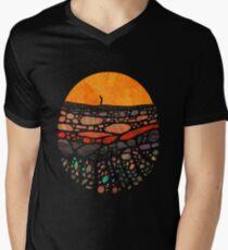 Beneath V-Neck T-Shirt