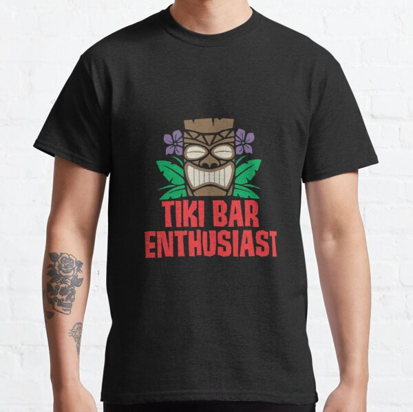 Tiki Bar Enthusiast Shirt Classic T-Shirt