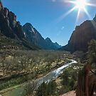 Zion Canyon by Mike Herdering