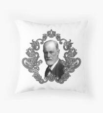 Freud Frocks Throw Pillow