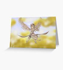 Pit (Kid Icarus) Sketch Greeting Card