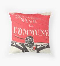 Paris Kommune Poster - Vive Le Commune Dekokissen