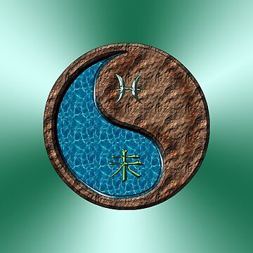 Pisces & Goat Yin Earth by astrodesigner75
