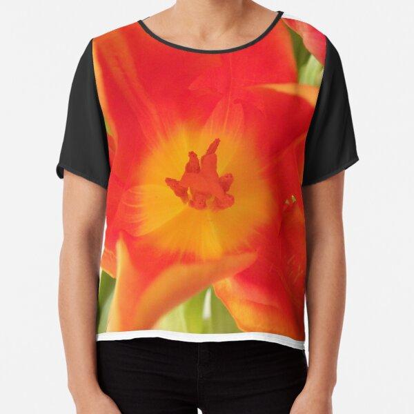 ein bunter Blütentraum, Tulpen, Tulpe Chiffon Top