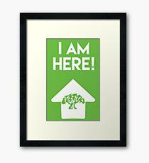I Am Here Collection - Animal Kingdom Framed Print