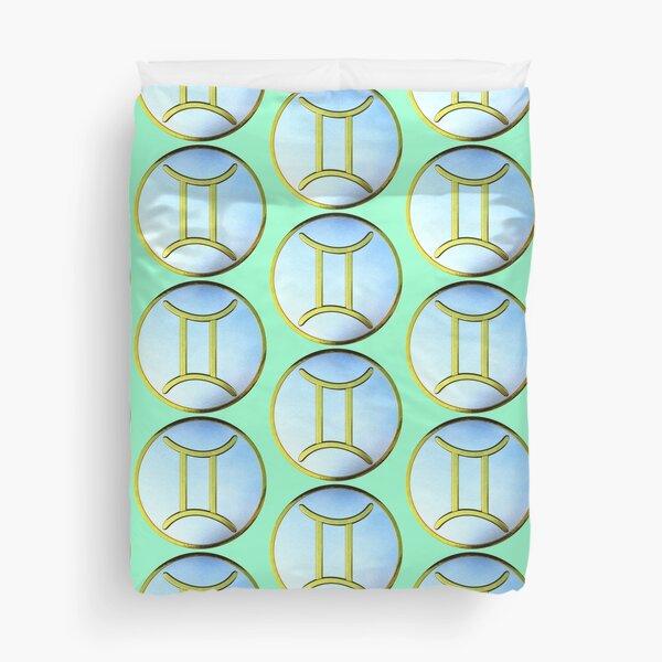 Gemini Glyph Duvet Cover