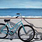 """Ocean View"" Taking a break by the ocean~  by LindaAppleArt"
