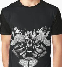 Katzengesicht Grafik T-Shirt
