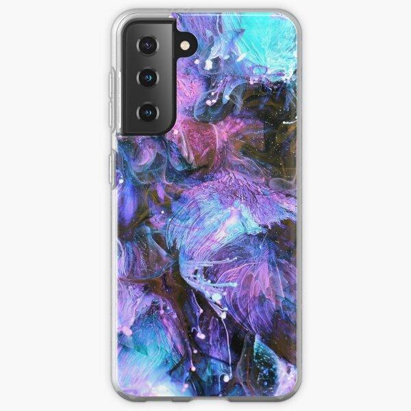 Black Smoke Samsung Galaxy Soft Case