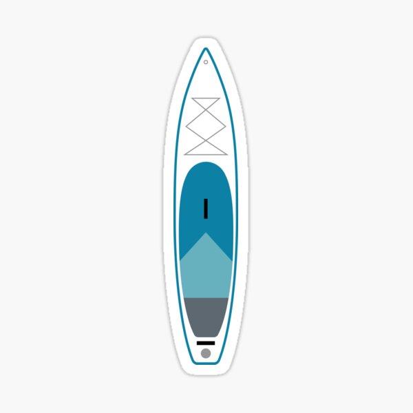 Surf Sup Blue Sticker