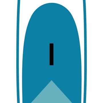 Surf Sup Blue by keplercat