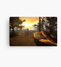 Doctor Who Return Of The Dinosaurs Canvas Print