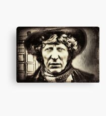 The 4th Doctor, My Doctor Canvas Print