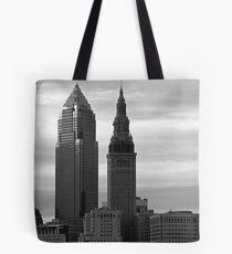 Sky Scrape Noir Tote Bag