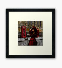 Ghosts in London Framed Print
