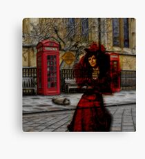 Ghosts in London Canvas Print