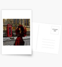 Ghosts in London Postcards
