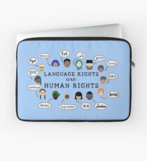 Language Rights are Human Rights Laptop Sleeve