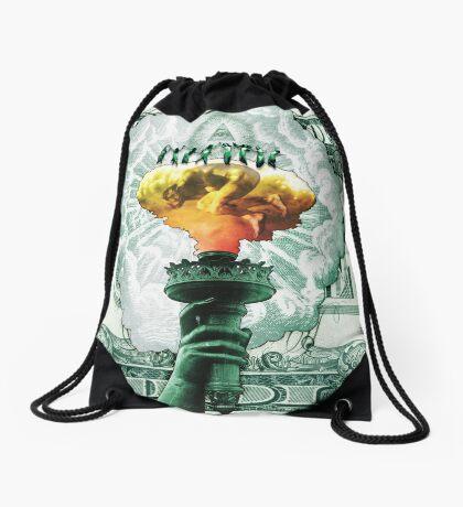 Impending Freedom Drawstring Bag