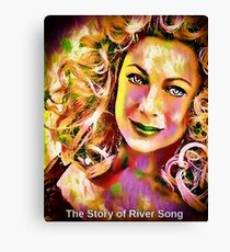 The Story of River Song Canvas Print