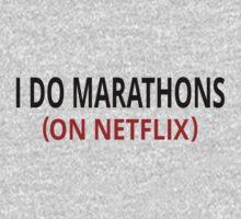 I Do Marathons (On Netflix) | Unisex T-Shirt