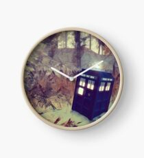 Tardis Lands On The Planet Tarissima Clock