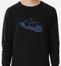 Schiff – dunkelblau Leichtes Sweatshirt