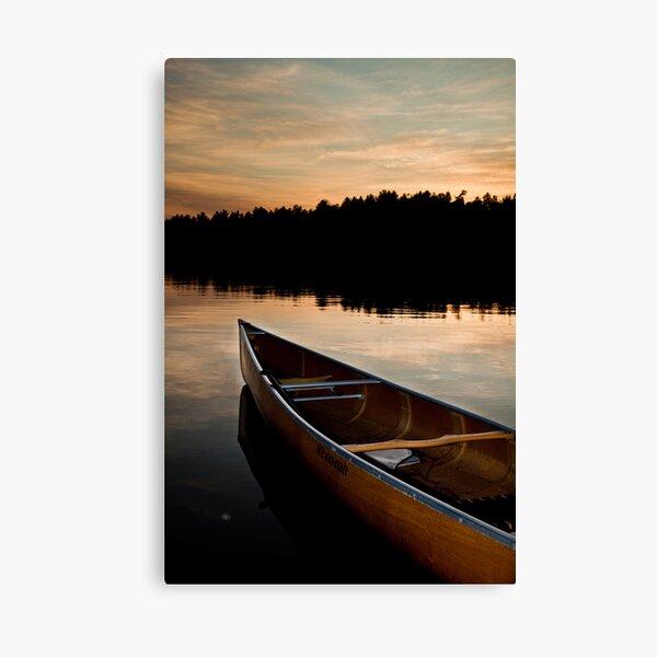 Northland Sunset Canvas Print