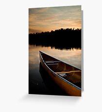 Northland Sunset Greeting Card