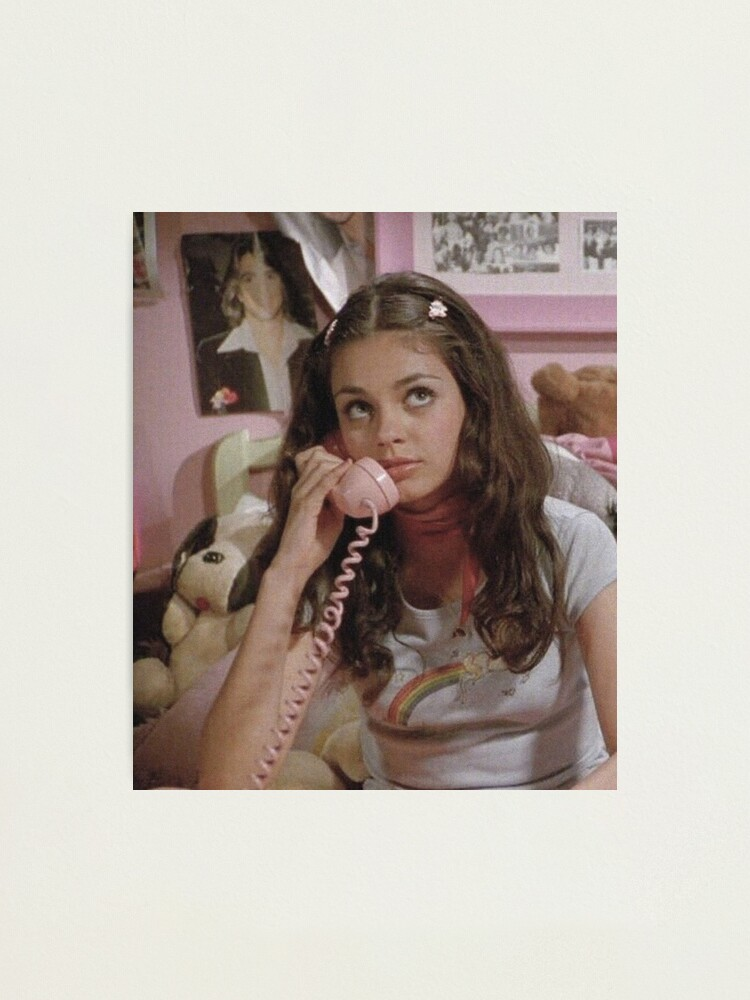 Alternate view of jackie - that 70s show Photographic Print