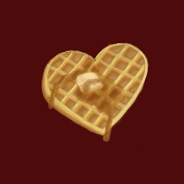 Waffle by whimsyteaspoon