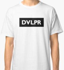 DVLPR label black Classic T-Shirt