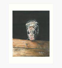 AJA/Oil on canvas Art Print