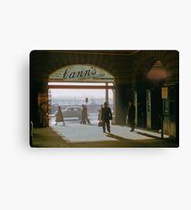Canns Flinders Street Station 19570103 0036 Canvas Print
