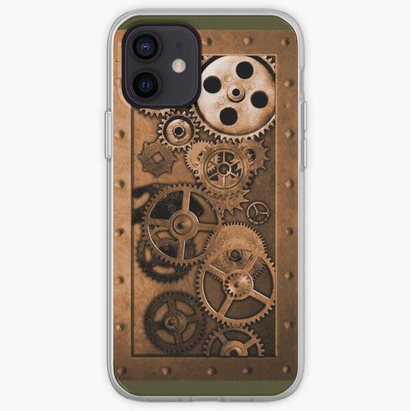 Steampunk Gears iPhone Soft Case