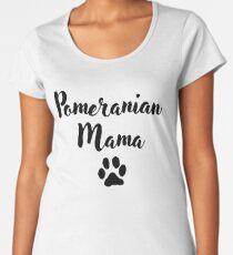 Pomeranian Mama Women's Premium T-Shirt