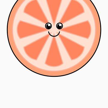 Cute Grapefruit by Hunniebee